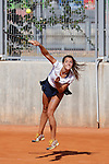 Great Britain tennis player Jodie Anna Burrage during Tennis Junior Fed Cup in Madrid, Spain. September 30, 2015. (ALTERPHOTOS/Victor Blanco)