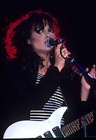 HOFFMAN ESTATES , ILLINOIS - JUNE 26, 1987: The bangles performing at Poplar Creek in Hoffman Estates, Illinois on June 26,1987.<br /> CAP/MPI/GA<br /> &copy;GA/MPI/Capital Pictures