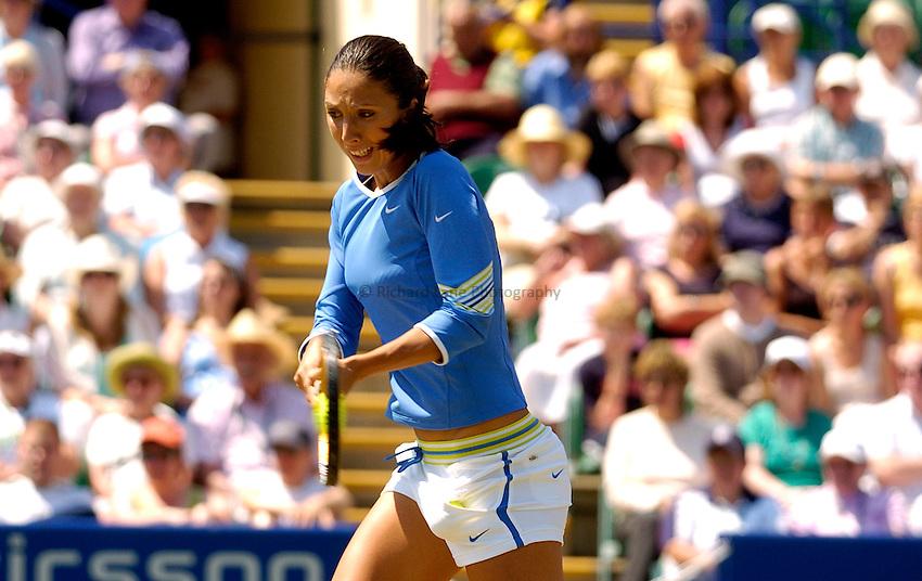 Photo: Alan Crowhurst..WTA The Hastings Direct International Championships Final, Eastbourne. 24/06/2006. Anastasia Myskina.