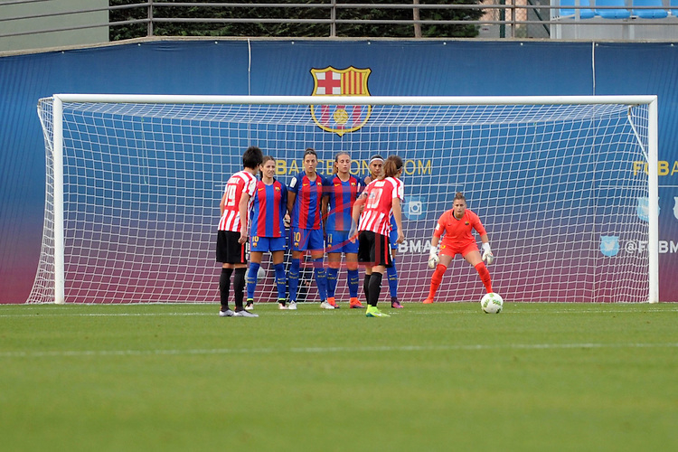Spanish Women's Football League Iberdrola 2016/17 - Game: 11.<br /> FC Barcelona vs Athletic Club: 2-1.