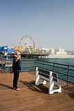 CALIFORNIA, Los Angeles, Santa Monica Boardwalk