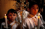Bethlehem, Greek Orthodox Christmas Ceremony at the Church of the Nativity&#xA;&#xA;<br />