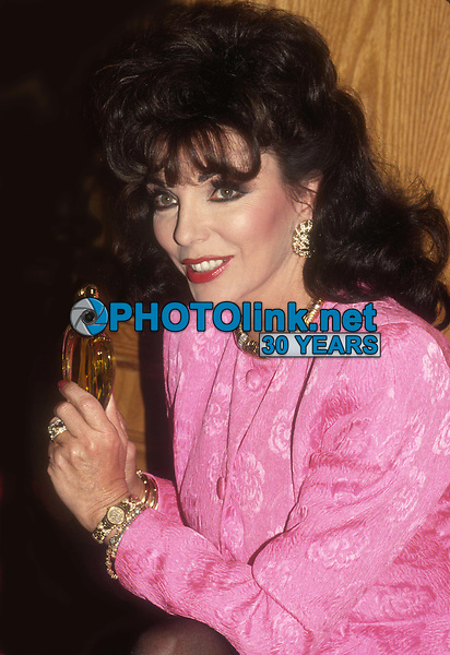 Joan Collins 1989<br /> Photo By John Barrett/PHOTOlink.net