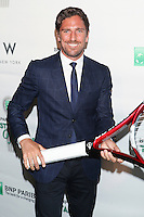 NHL player Henrik Lundqvist attends the 13th Annual 'BNP Paribas Taste of Tennis' at the W New York.  New York City, August 23, 2012. © Diego Corredor/MediaPunch Inc. /NortePhoto.com<br />