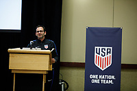 U.S. Soccer Youth Team Meeting, January 4, 2018