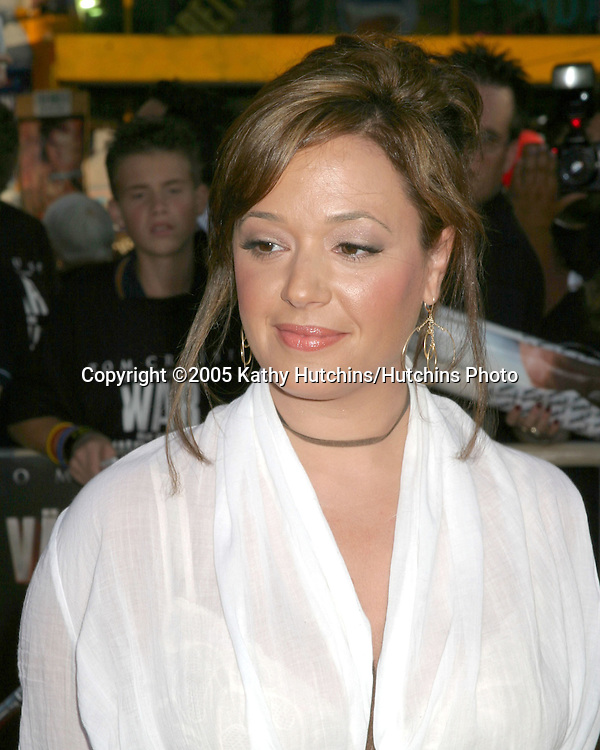 Leah Remini .War if the Worlds Screening.Grauman's Chinese Theater.Los Angeles, CA.June 27, 2005.©2005 Kathy Hutchins / Hutchins Photo