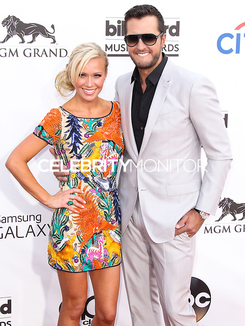 LAS VEGAS, NV, USA - MAY 18: Caroline Boyer, Luke Bryan at the Billboard Music Awards 2014 held at the MGM Grand Garden Arena on May 18, 2014 in Las Vegas, Nevada, United States. (Photo by Xavier Collin/Celebrity Monitor)
