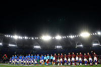 Teams line up <br /> Roma 20-02-2020 Stadio Olimpico <br /> Football Europa League 2019/2020 Round of 32 first leg <br /> AS Roma -  Kaa Gent <br /> Photo Andrea Staccioli / Insidefoto