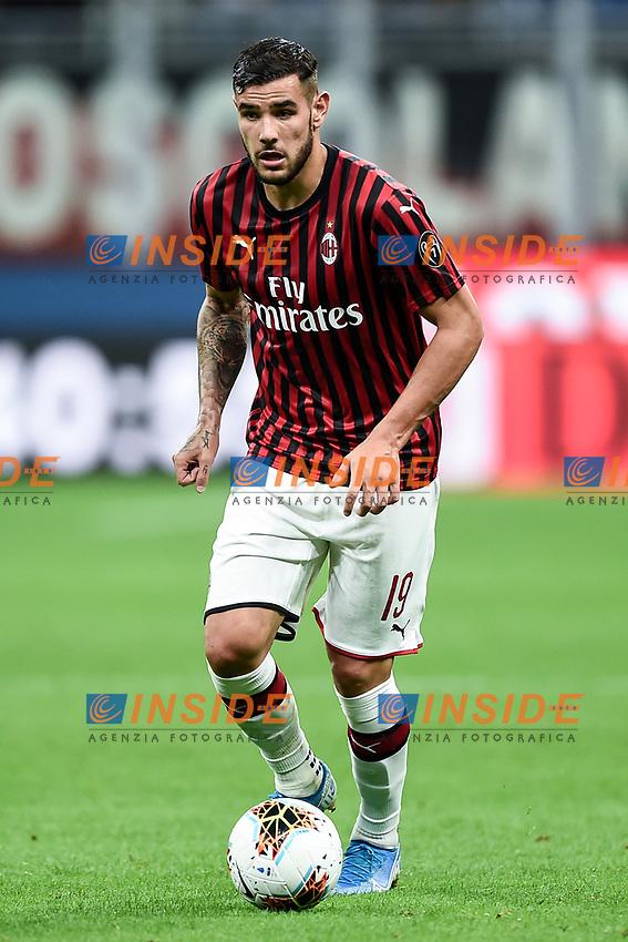 Theo Hernandez of AC Milan <br /> Milano 29/09/2019 Stadio Giuseppe Meazza <br /> Football Serie A 2019/2020 <br /> AC Milan - ACF Fiorentina   <br /> Photo Image Sport / Insidefoto