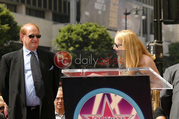 Mike Medavoy with Patricia Clarkson<br />
