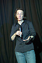 A L Kennedy performing at the Stand Comedy Clu at the Edinburgh Festival 2006. CREDIT Geraint Lewis