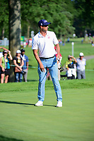 Adam Scott (AUS) on the 3rd during the first round of the WGC Bridgestone Invitational, Firestone country club, Akron, Ohio, USA. 03/08/2017.<br /> Picture Ken Murray / Golffile.ie<br /> <br /> All photo usage must carry mandatory copyright credit (&copy; Golffile | Ken Murray)