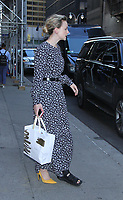 NEW YORK, NY July 09, 2018 Carey Mulligan  at the Late Show with Stephen Colbert  to talk about Off-Broadway play Girls &amp; Boys in New York. July 09, 2018 <br /> CAP/MPI/RW<br /> &copy;RW/MPI/Capital Pictures