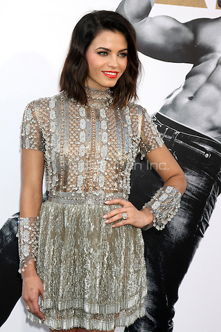 "LOS ANGELES, CA - JUNE 25: Jenna Dewan-Tatum  at the ""Magic Mike XXL"" Premiere at the TCL Chinese Theater on June 25, 2015 in Los Angeles, California. Credit: David Edwards/MediaPunch"