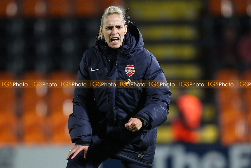 Arsenal Ladies manager Shelley Kerr - Arsenal Ladies vs Lincoln Ladies - FA Womens Super League Continental Cup Final Football at The Hive Stadium, Barnet FC - 04/10/13 - MANDATORY CREDIT: Gavin Ellis/TGSPHOTO - Self billing applies where appropriate - 0845 094 6026 - contact@tgsphoto.co.uk - NO UNPAID USE