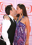 UNIVERSAL CITY, CA. - April 19: David Faustino and Christiana Leucas arrive at the 2009 TV Land Awards at the Gibson Amphitheatre on April 19, 2009 in Universal City, California.