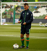 June 11th 2017, Dublin, Republic Ireland; 2018 World Cup qualifier, Republic of Ireland versus Austria; Republic of Ireland assistant manager Roy Keane before the game