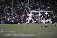 07 November 2009:  Ohio State QB Terrelle Pryor (2) throws..The Ohio State Buckeyes defeated the Penn State Nittany Lions 24-7 at Beaver Stadium in State College, PA..