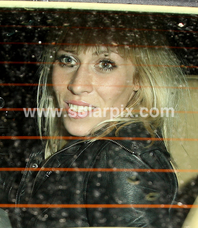 **ALL ROUND PICTURES FROM SOLARPIX.COM**.**WORLDWIDE SYNDICATION RIGHTS**.Caprice, Natasha Bedingfield and Hofit Golan emerge tipsy and holding on to each other from Cipriani's restaurant, London, 26th September 2007..This pic: Natasha Bedingfield..JOB REF: 4853 SSD     DATE: 26_09_2007.**MUST CREDIT SOLARPIX.COM OR DOUBLE FEE WILL BE CHARGED* *UNDER NO CIRCUMSTANCES IS THIS IMAGE TO BE REPRODUCED FOR ANY ONLINE EDITION WITHOUT PRIOR PERMISSION*