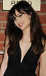 =Culver City=, CA - SEPTEMBER 10: Zooey Deschanel arrives at the FOX Fall Eco-Casino Party at The Bookbindery on September 10, 2012 in Culver City, California.