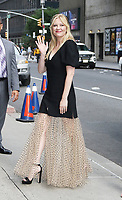 AUG 15 Kirsten Dunst  at The Late Show with Stephen Colbert