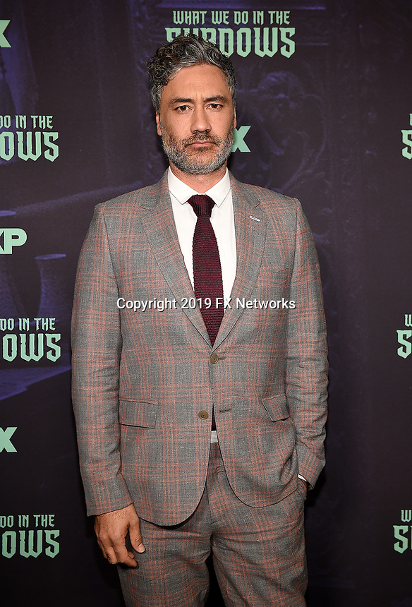 """HOLLYWOOD - MAY 22: Executive Producer/Director Taika Waititi attends FX's """"What We Do in the Shadows"""" FYC event at Avalon Hollywood on May 22, 2019 in Hollywood, California. (Photo by Frank Micelotta/FX/PictureGroup)"""