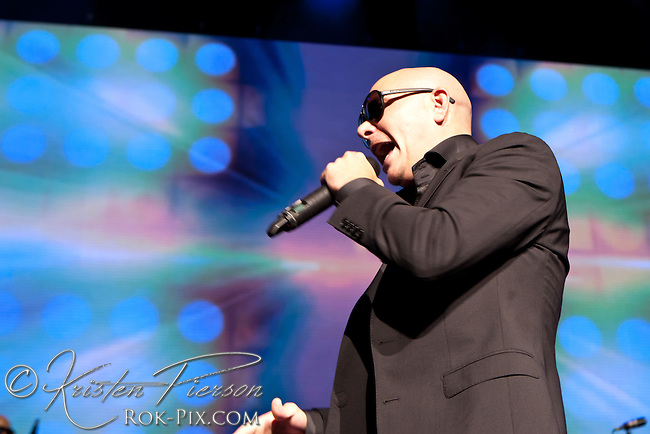 Pitbull performs at Comcast Center May 23 2013