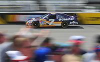 May 2, 2008; Richmond, VA, USA; NASCAR Sprint Cup Series driver Robby Gordon during practice for the Dan Lowry 400 at the Richmond International Raceway. Mandatory Credit: Mark J. Rebilas-