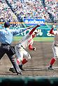 Naoki Takahashi (),<br /> MARCH 31, 2016 - Baseball :<br /> Naoki Takahashi of Chiben Gakuen scores the winning run in the eleven inning during the 88th National High School Baseball Invitational Tournament final game between Takamatsu Shogyo 1-2 Chiben Gakuen at Koshien Stadium in Hyogo, Japan. (Photo by Katsuro Okazawa/AFLO)
