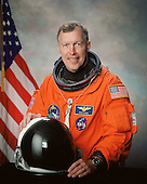 Houston, TX - (FILE) -- Portrait of Astronaut Dominic L. Gorie, commander, STS-123 taken in 2000. STS-123, flying aboard the Space Shuttle Endeavour, is scheduled for launch at 2:28 a.m. EDT Tuesday, March 11, 2008.  Its mission is to deliver the first pressurized component of the Japanese Kibo (Hope) Laboratory and a Canadian robotic device called Dextre utilizing 5 spacewalks.  Its 16-day flight is the longest shuttle mission to date..Credit: NASA via CNP