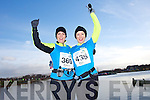 Deirdre Gaudino and Helen O'Carroll at the Valentines 10 mile road race in Tralee on Saturday.