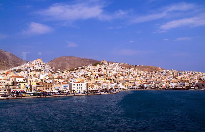 Greek island of Siros, Greece