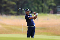 Hideto Tanihara (JPN) on the 14th during Round 1 of the Aberdeen Standard Investments Scottish Open 2019 at The Renaissance Club, North Berwick, Scotland on Thursday 11th July 2019.<br /> Picture:  Thos Caffrey / Golffile<br /> <br /> All photos usage must carry mandatory copyright credit (© Golffile | Thos Caffrey)