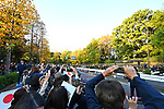 Well-wishers watch the royal parade to mark the enthronement of Japanese Emperor Naruhito in Tokyo, Japan on Sunday, November 10, 2019. (Photo by MATSUO.K/AFLO)