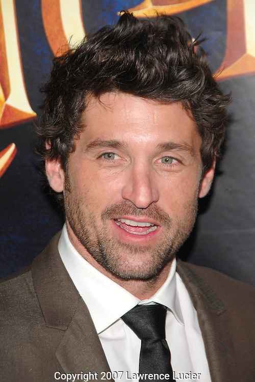 "Actor Patrick Dempsey arrives at a screening of ""Enchanted"" November 20, 2007, at the Ziegfeld Theater in New York City.. (Pictured : PATRICK DEMPSEY)."