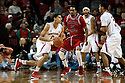 December 14, 2013: Tai Webster (0) of the Nebraska Cornhuskers dribbles against Melvin Johnson III (31) of the Arkansas State Red Wolves against the Arkansas State Red Wolves at the Pinnacle Bank Areana, Lincoln, NE. Nebraska defeated Arkansas State 79 to 67.