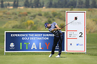 Paul Waring (ENG) during the third round of the Rocco Forte Sicilian Open played at Verdura Resort, Agrigento, Sicily, Italy 12/05/2018.<br /> Picture: Golffile   Phil Inglis<br /> <br /> <br /> All photo usage must carry mandatory copyright credit (&copy; Golffile   Phil Inglis)