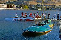 """U-40 """"Miss Bardahl"""" (b.1958) owner Bruce McCaw, U-4 """"Miss Burien"""" (b.1960)"""