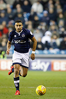 James Meredith of Millwall on the ball during the Sky Bet Championship match between Millwall and Queens Park Rangers at The Den, London, England on 29 December 2017. Photo by Carlton Myrie / PRiME Media Images.