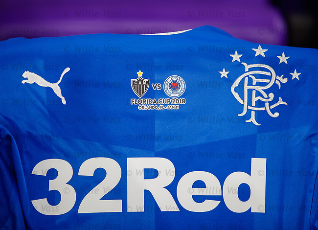 Rangers shirt with Florida Cup logo
