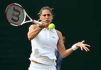 ANDREA PETKOVIC (GER)<br /> The Championships Wimbledon 2014 - The All England Lawn Tennis Club -  London - UK -  ATP - ITF - WTA-2014  - Grand Slam - Great Britain -  26th. June 2014. <br /> <br /> &copy; J.Hasenkopf / Tennis Photo Network
