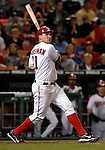 18 May 2007: Washington Nationals third baseman Ryan Zimmerman in action against the Baltimore Orioles at RFK Stadium in Washington, DC. The Orioles defeated the Nationals 5-4 in the first game of the 3-game interleague series...Mandatory Photo Credit: Ed Wolfstein Photo