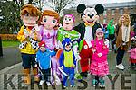 Tir na Nog Easter Festival - Under 12 Kids Fancy Dress Fun Run in Tralee Town Park were Summer Birch  Melissa Murphy and Terry Healy