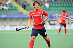 The Hague, Netherlands, June 10: Eunseong Hong #17 of Korea looks on during the field hockey group match (Men - Group B) between Germany and Korea on June 10, 2014 during the World Cup 2014 at Kyocera Stadium in The Hague, Netherlands. Final score 6-1 (3-0) (Photo by Dirk Markgraf / www.265-images.com) *** Local caption ***