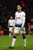 Erik Lamela of Tottenham Hotspur during Tottenham Hotspur vs Inter Milan, UEFA Champions League Football at Wembley Stadium on 28th November 2018