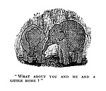 """"""" What about you and me and a little home?"""""""