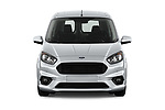 Car photography straight front view of a 2018 Ford transit courier Limited 4 Door Car Van