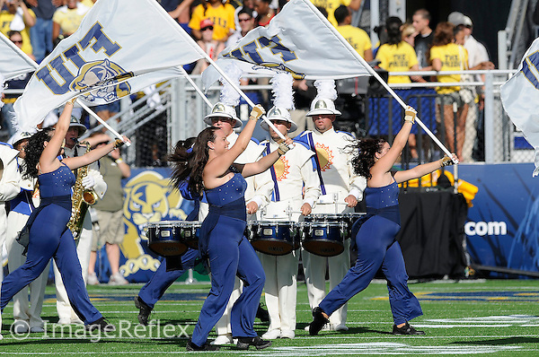 20 September 2008:  FIU's band performs prior to the USF 17-9 victory over FIU at FIU Stadium in Miami, Florida.