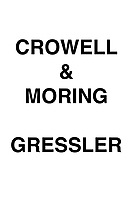 Crowell & Moring Gressler