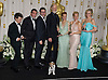 "TOM LANGMANN, JEAN DUJARDIN, MICHEL HAZANAVICIUS, JAMES CROMWELL BERENICE BEJO, PENELOPE ANN MILLER AND MISSI PYLE.the cast from ""The Artist""at the 84th Academy Awards, Kodak Theatre, Hollywood, Los Angeles_26/02/2012.Mandatory Photo Credit: ©Dias/Newspix International..**ALL FEES PAYABLE TO: ""NEWSPIX INTERNATIONAL""**..PHOTO CREDIT MANDATORY!!: NEWSPIX INTERNATIONAL(Failure to credit will incur a surcharge of 100% of reproduction fees)..IMMEDIATE CONFIRMATION OF USAGE REQUIRED:.Newspix International, 31 Chinnery Hill, Bishop's Stortford, ENGLAND CM23 3PS.Tel:+441279 324672  ; Fax: +441279656877.Mobile:  0777568 1153.e-mail: info@newspixinternational.co.uk"